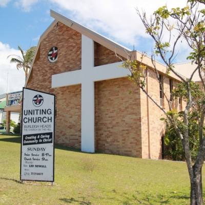 Photo of Burleigh Heads Uniting Church in summer